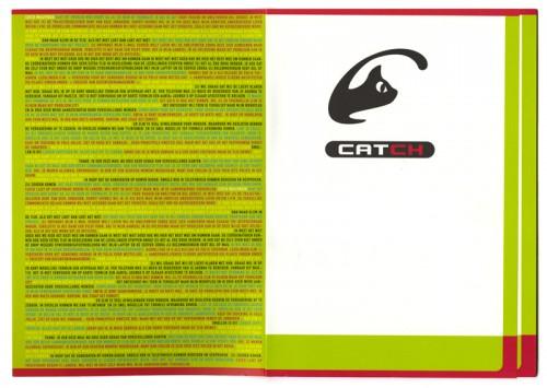 grafisch ontwerp brochure Catch / Click F1