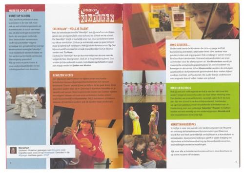 grafisch ontwerp en layout brochure Muzerie