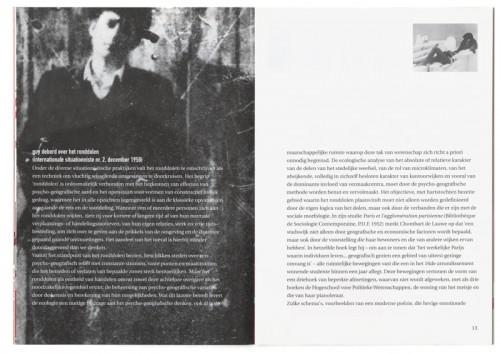 ontwerp en opmaak brochure Drieste Exercities voor debatcentrum Tumult