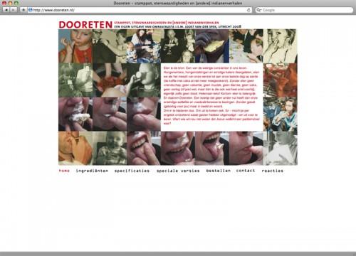 website eigen project dooreten