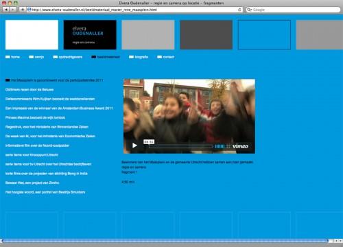 webdesign voor site camjo