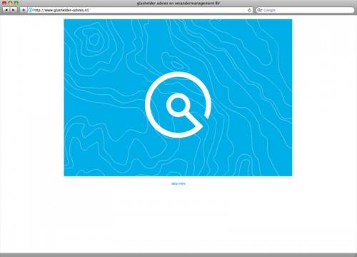 website ontwerp en realisatie voor Glashelder advies