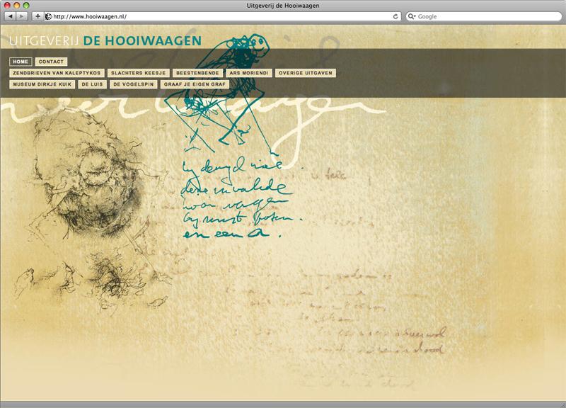 ontwerp en technische uitvoering website de Hooiwaagen