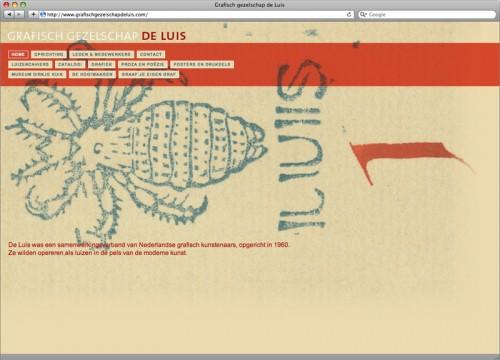 ontwerp en realisatie website de luis