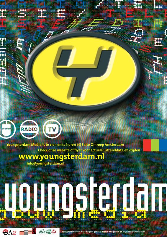 ontwerp affiche voor Youngsterdam