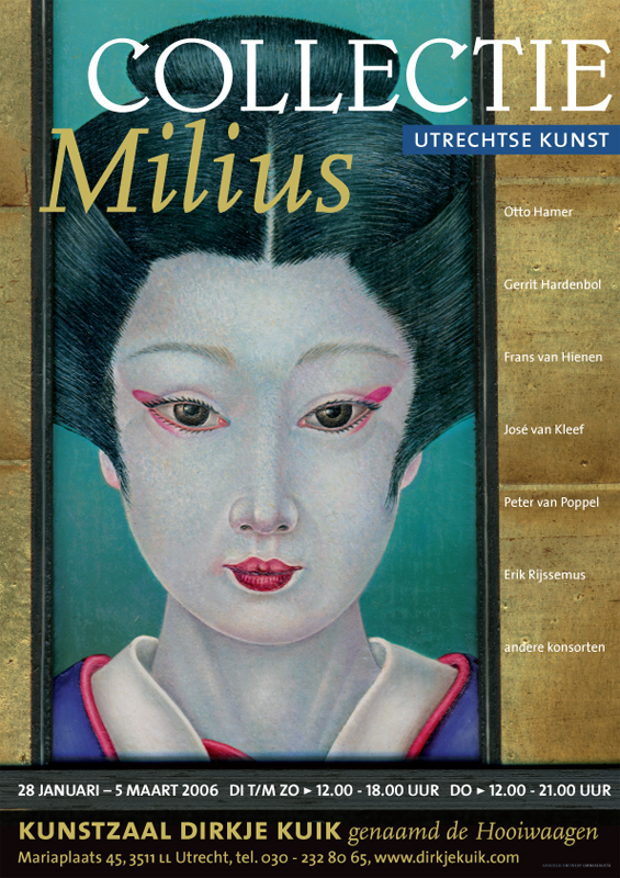 affiche collectie Milius