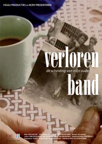 ontwerp affiche documentaire Verloren band