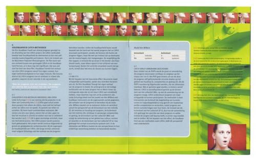 binnenwerk ontwerp brochure Catch Amsterdam