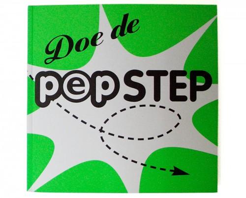 ontwerp brochure / boekje Doe de Pep-step