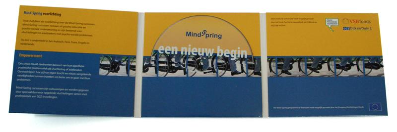 grafisch ontwerp dvd-sleeve en dvd-bedrukking