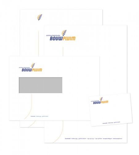 correspondentiepakket Bouwpluim voor 2-jaarlijkse prijs Nederlandse bouwwereld