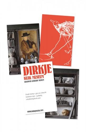 visitekaartjes Dirkje Kuik Museum