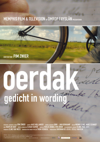 Affiche voor de documentaire Oerdak - gedicht in wording van Pim Zwier.