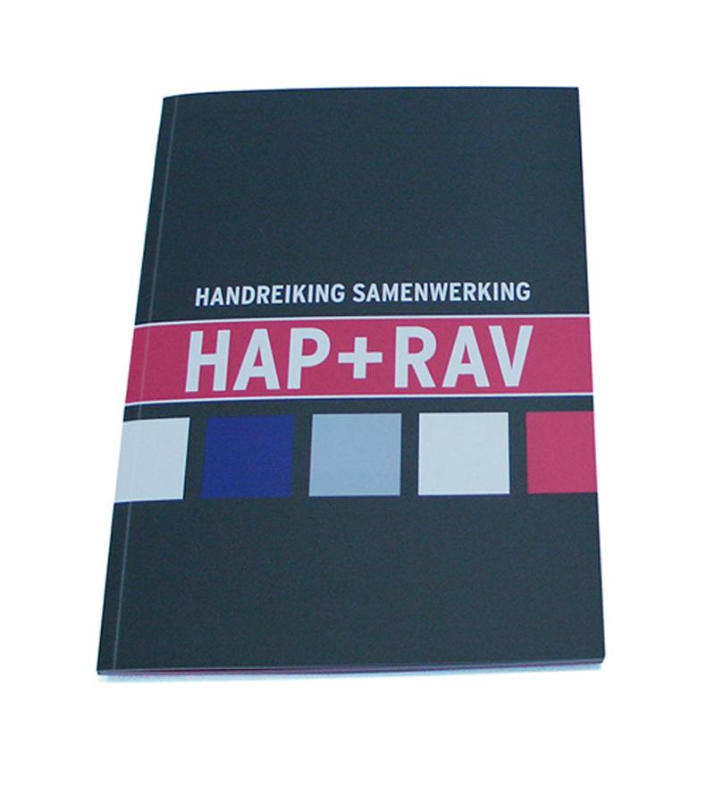 ontwerp brochure HAP + RAV