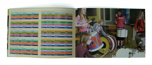 brochure-ontwerp musicus in de klas project