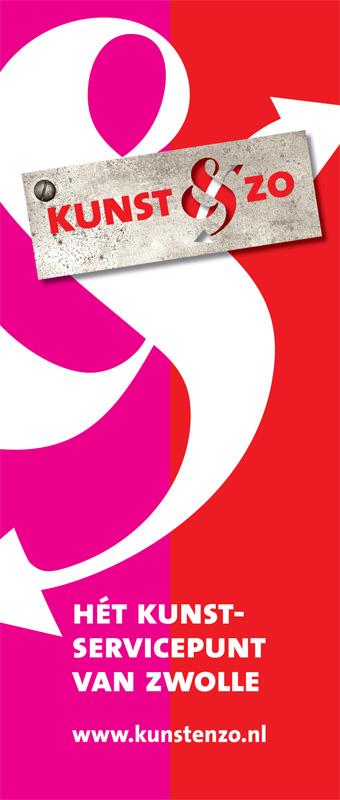 grafisch ontwerp banner Kunst & Zo
