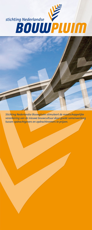 banner ontwerp Bouwpluim