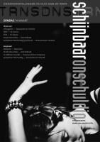Grafisch ontwerp flyer voor dansvoorstelling