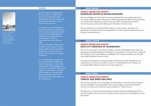 grafisch ontwerp folder Tumult Utrecht