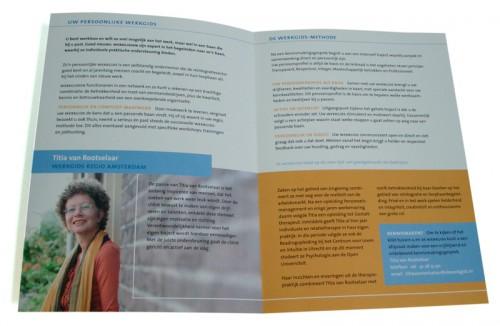 folderontwerp voor werkgids uit netwerk voor reintegratiespecialisten