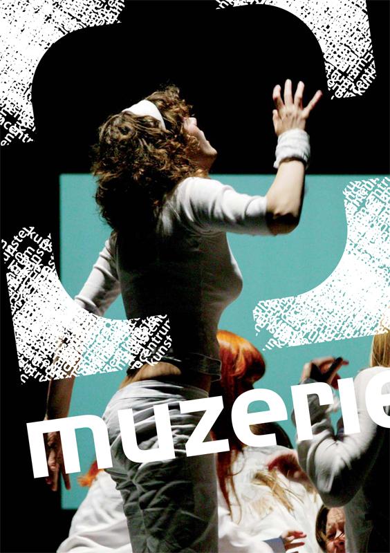 ontwerp kaart Muzerie - theater