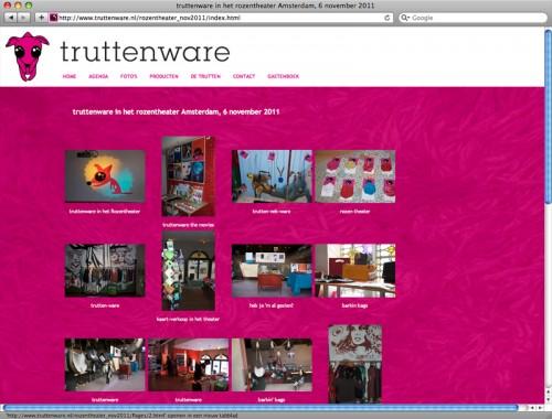 gallery op website voor Truttenware