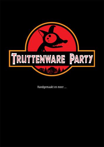 grafisch ontwerp truttenware-parodie filmposter Jurrasic Park