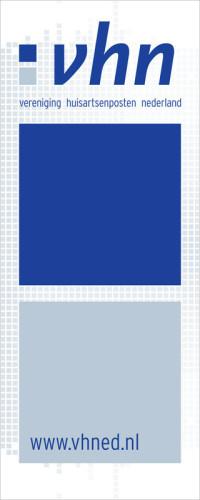grafisch ontwerp voor de VHN Vereniging Huisartsenposten Nederland in Utrecht