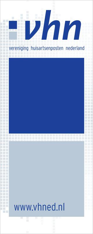 ontwerp van banner voor de Vereniging huisartsenposten Nederland - VHN