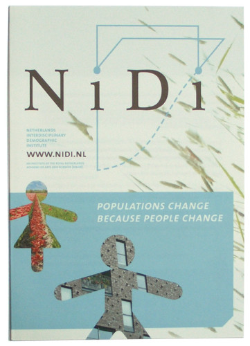 Algemene informatie folder voor het Nidi Nederlands Interdisciplinair Demografisch Instituut