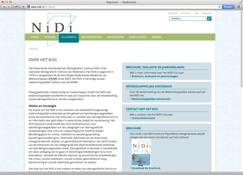 webdesign NiDi