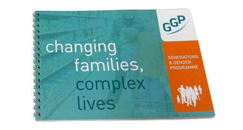 brochure voor GGP Generations & Gender Programme