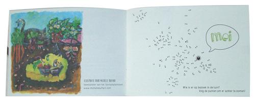 concept, ontwerp, illustraties voor Het klein Spinozatuinboekje