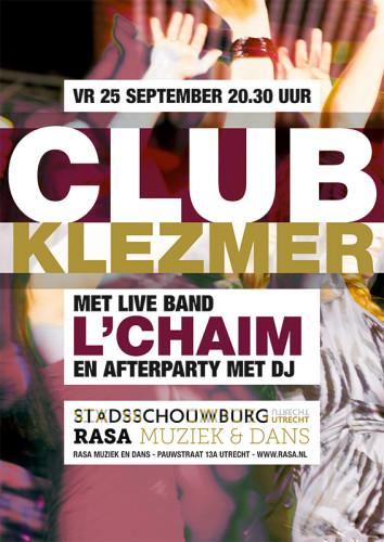 grafisch ontwerp reeks affiches Stadsschouwburg Utrecht en Rasa