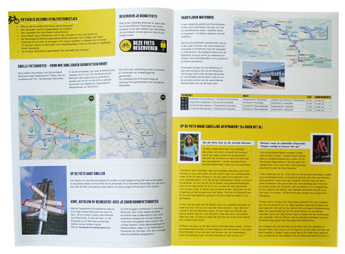 grafisch ontwerp folder Rij2op5 - Drechtsteden