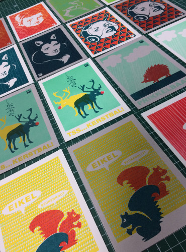 diverse ansichtkaarten met envelop