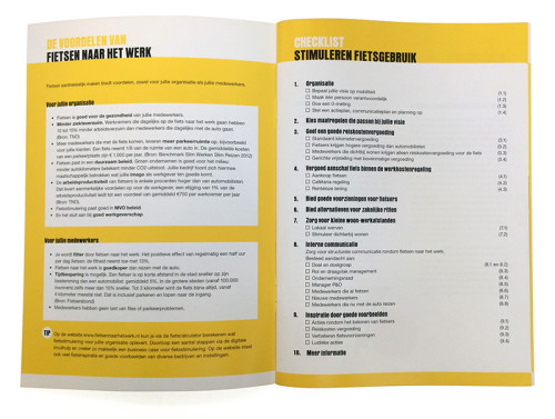 opmaak brochure stappenplan Rij2op5