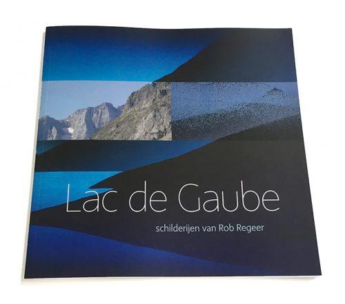 ontwerp boekomslag Lac de Gaube