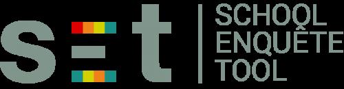 logo voor de School Enquête Tool van e-Loo
