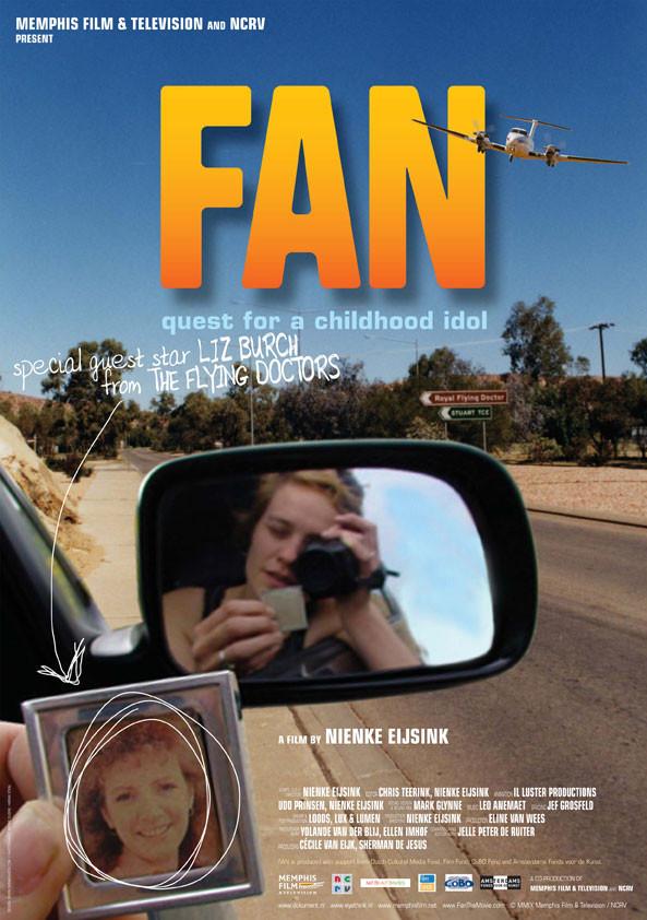 ontwerp affiche voor documentaire Fan van Memphis film & television