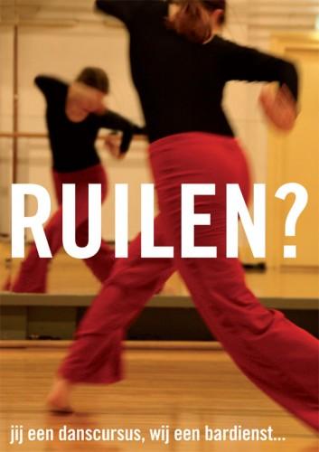 ontwerp kaart Danscentrum Utrecht