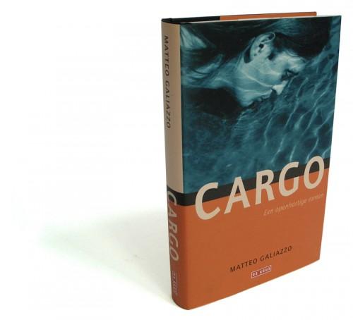 grafisch ontwerp boekomslag Cargo voor uitgeverij de Geus