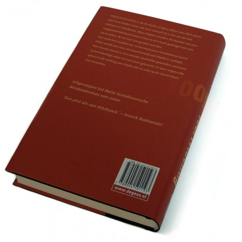 achterzijde boekomslag Voortvluchtig