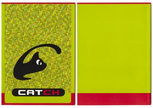 grafisch ontwerp brochure/interviewboekje Catch