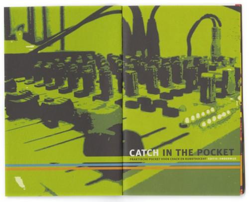 ontwerp, fotobewerking en opmaak brochure Catch in the pocket