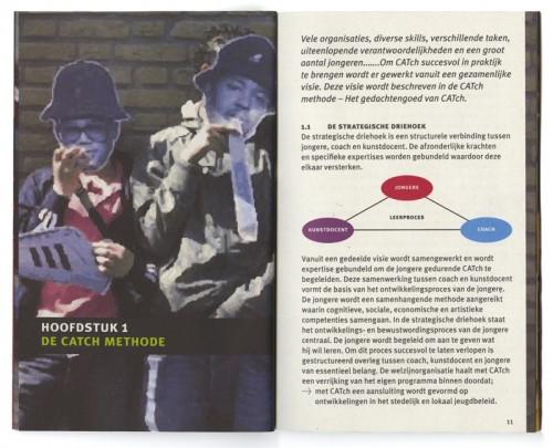 layout / paginaopmaak Catch in de Wijk
