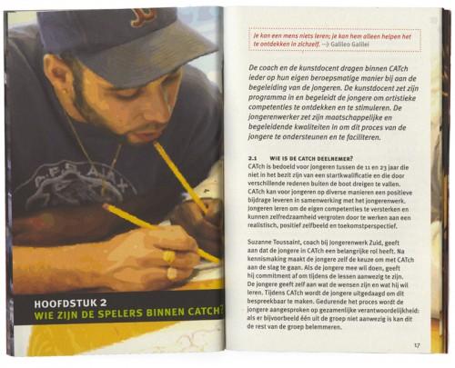 ontwerp / opmaak brochure Catch in de Wijk