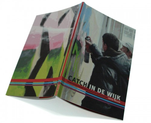 grafisch ontwerp brochure / pocket Catch in de wijk