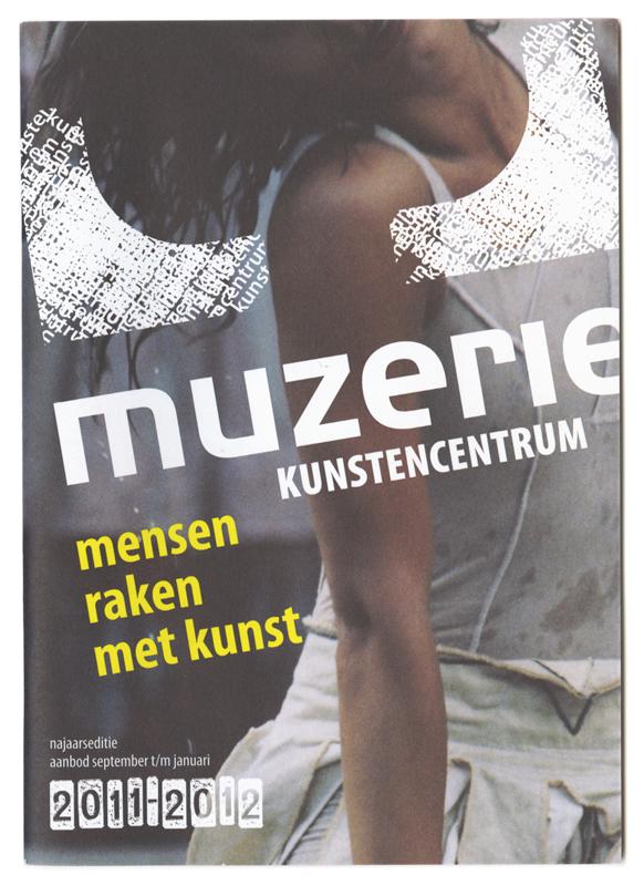 grafisch ontwerp brochure cursusaanbod Muzerie