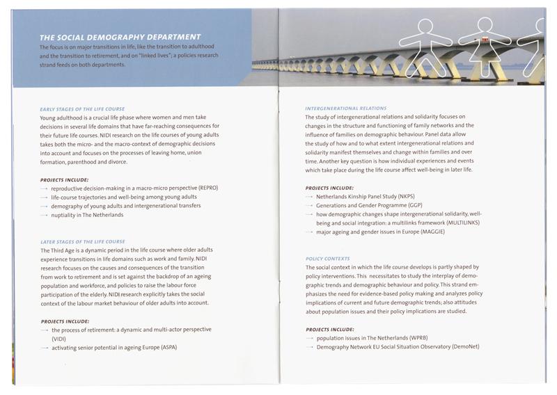 ontwerp en opmaak informatieve brochure